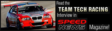 Read the Team Tech Racing Interview in Speed News Magazine!