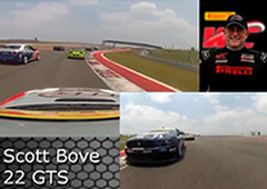 PWC COTA 2013 Scott Bove On Board Highlights GTS Round 5